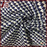 Imprimé spandex Mélange soie élastique en tissu de coton Santin