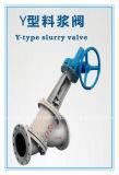 Y-type de Klep van de Dunne modder voor Alumina Verwerking