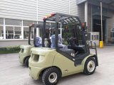 Nieuwe N Reeks 2.0 van de V.N. Vorkheftruck van de Mast van de Dieselmotor van de Ton 2000kg Triplex
