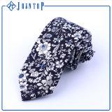 Cravate neuve d'hommes d'action fabriquée à la main de coton