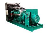 Conjunto de generador diesel Emergency del comienzo del negro del envase 800kw 1000kVA