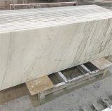 Controsoffitti di marmo bianchi Polished per la cucina e la stanza da bagno