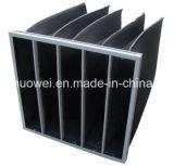 Aluminium Alloys Frame Washable Pocket HEPA Filtre à air F5 Filtre à piles, filtre à air AC pour instrument précis