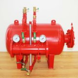 Tanque de escada de fogo, tanque de espuma horizontal, tanque de espuma vertical