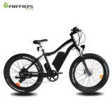 Bici elettrica della gomma grassa della montagna della neve 1000W per gli uomini