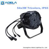 방수 54X3w 3 색 LED 동위 옥외 IP65 빛