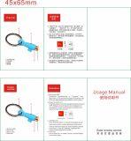 情報処理機能をもった家庭電化製品のユニバーサル携帯電話の赤外線リモート・コントロール送信機の空気調節ボックス赤外線エミッターApple