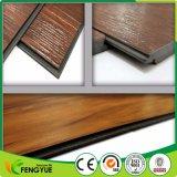 Bel étage de cliquetis de vinyle de stratifié de plastique de constructeur de la Chine de couleur
