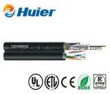 IP Camera Siamese RG6 / U Coaxial Coaxial Cable com alimentação para CCTV