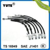 Boyau hydraulique en caoutchouc de Fmvss 106 SAE J1401 EPDM de 1/8 pouce
