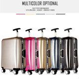 Bw1-060アルミニウムフレームのスーツケースの堅い上の荷物旅行袋セット