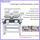 Holiaumaのコマーシャル2のヘッド刺繍機械Yuemeiの平らなタイプYuemeiの平らな刺繍機械