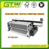Oric HT180-E4 Impresora de sublimación directa con cuatro Dx-5 del cabezal de impresión