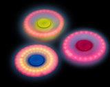 매혹 LED는 플라스틱 손 싱숭생숭함 방적공 장난감을 불이 켜진다