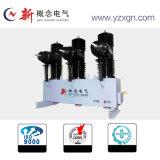 12kv, 24kv, 40,5 KV, KV 72.5Outdoor disjoncteur haute tension du circuit de vide