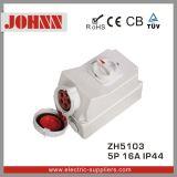 IP44 5p 16A industrielle Kontaktbuchse mit Schaltern und mechanischem Sicherheitskreis