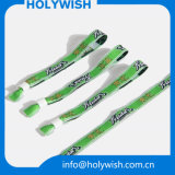 Wristbands типа Wristband сатинировки изготовленный на заказ с конструкцией имен