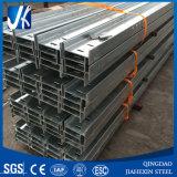 Les poutres en double T du bâti en acier solaire, chaud plongé galvanisent ASTM A36