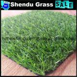 Relva Sintética Grass 20mm Verde Liso + Amarelo Curl Yarn