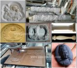 Doppia macchina per incidere 1325 di pietra di CNC 5.5kw della testa per il monumento della pietra tombale