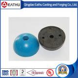 Fertigbeton blau und schwarze Gummiaussparung ehemalig