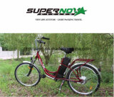 Bicyclette électrique de moteur arrière sans frottoir