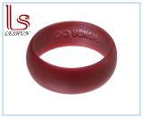 O anel de casamento do silicone para o ajuste confortável, descasc o cofre forte, Non-Toxic, antibacteriano