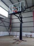 Venta al por mayor ajustable en altura bajo suelo residencial Aro de baloncesto por la calzada