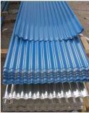 Folha de alumínio ondulado (para coberturas e parede)