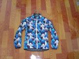 100% poliéster impermeable chaqueta exterior (J006)