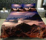 Van het Katoenen van 100% Reeks van de Zaal van het Bed van het Dekbed Blad van het Bed de Vastgestelde 3D Reactieve Afgedrukte