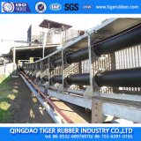 Correia Transportadora do tubo de Correia Industrial /Borracha/Sistema de Transporte o Tapete de Borracha