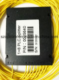 Gpon 원거리 통신 1X8 플라스틱 상자 PLC 쪼개는 도구