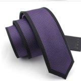 Cravate tissée de polyester avec la relation étroite de Parnel Microfiber (PN01/02/03/04)