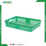 Caisse plastique Caisse empilable fruits bin pour les exploitations agricoles