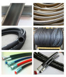 Fil de haute qualité de la tresse de flexible en caoutchouc hydraulique 1sc/2sc
