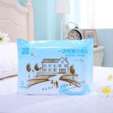 Постельных принадлежностей гостиницы хорошего качества крышка Duvet устранимых установленная