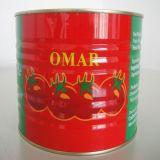 Tomatenpuree aan de Markt van het Midden-Oosten