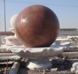 Sfera della fontana del granito, sfera di marmo, sfera di galleggiamento del granito