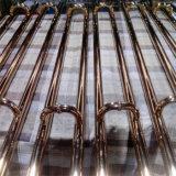 高品質304のステンレス鋼の金によってめっきされるハンドル、ホテルのドアのための引きのハンドル