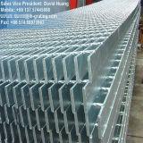 Оцинкованный сварной стальной сеткой решетку для пола мостика