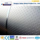 plaque décorative gravée en relief 304 par 304L d'acier inoxydable