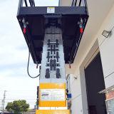 Plataforma de trabalho aéreo de alumínio dos mastros duplos (altura máxima 10m)