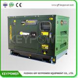 7 КВА бесшумный дизельный генератор с двигателем Perkins