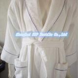 Le peignoir de Turkishtowels Terry, 100% a peigné la robe longue turque pure de Terry de coton
