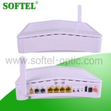 Port 4 Fe avec 2 ports VoIP FTTH Wireless Triple Play Epon Olt ONU