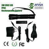Torche à LED rechargeable antidéflagrante avec LED CREE