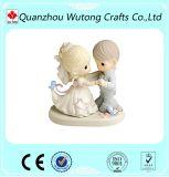 Симпатичные драгоценные Figurines украшения венчания смолаы подарков дня Valentine момента