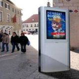 32 인치 - 디지털 방식으로 높은 밝은 옥외 Signage