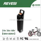 Блок батарей Li-иона серебряных рыб 48V 10ah в случай алюминия E-Bike